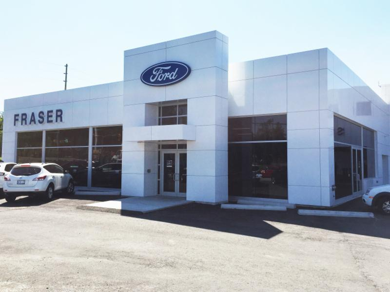 Welcome to our newly renovated and redesigned dealership. - Fraser Ford Sales Oshawa Limited
