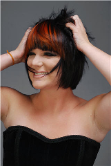 On The Fringe Hair Design - Photo 7