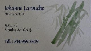 Acupuncteure Johanne Larouche - Photo 1