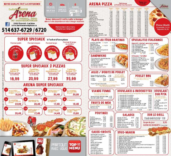 Lachine Arena Pizza & Bar-B-Q - Photo 2