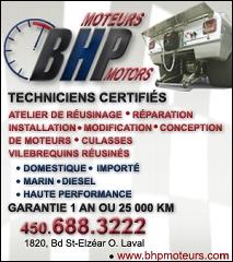 BHP Moteurs - Photo 1