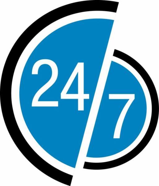 Ouvert 7 jours sur 7, 24 heures sur 24, 365 jours par année.