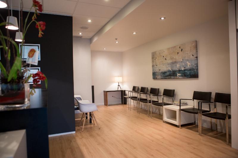 Réception de la clinique Axis Podiatres de Sainte-Foy