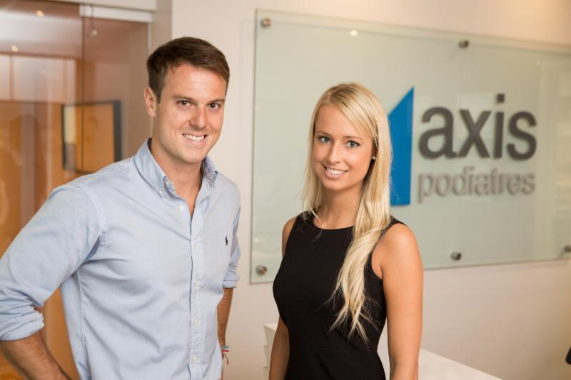 Dr Simon Pelletier et Marie-Michèle Gagné-Rae podiatres - Axis Podiatres