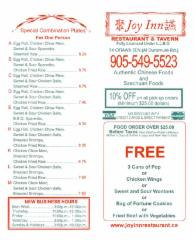Joy Inn Restaurant & Tavern - Photo 1