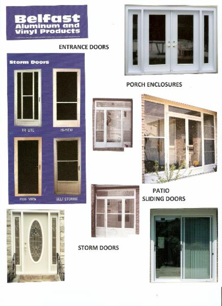 Aluminum Windows And Doors Edmonton : Photo belfast aluminum vinyl products