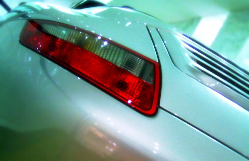 Sports car repaired