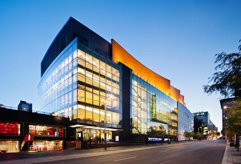 Architecture, encadrement écologique (développement durable) - Maison symphonique, Montréal - Aedifica