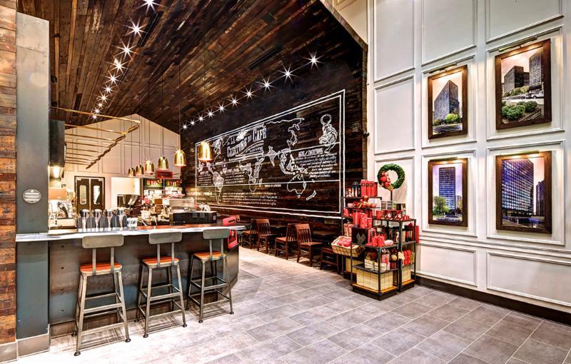 Aménagement commercial - Starbucks      Mettre à jour      - Aedifica