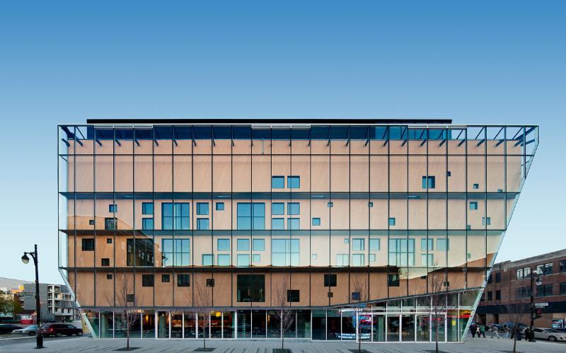 Architecture, encadrement écologique (développement durable) - 2-22, rue Sainte-Catherine, Montréal - Aedifica