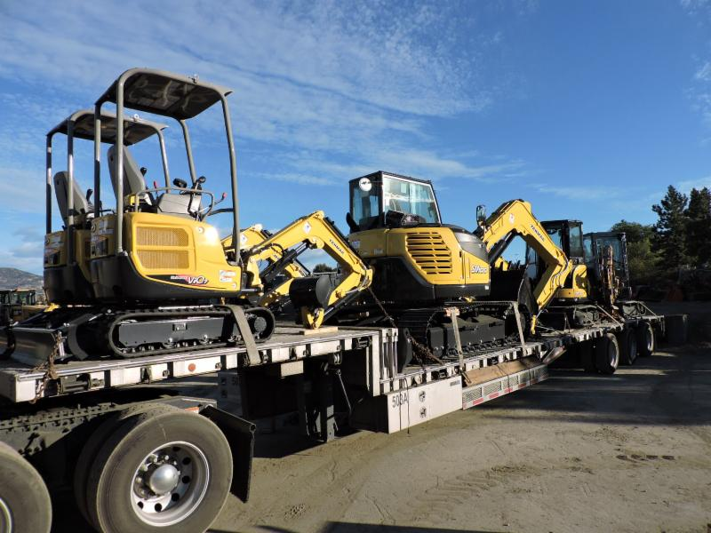 We have lots of Yanmar Mini Excavators (available for rent and sale) for those smaller jobs.