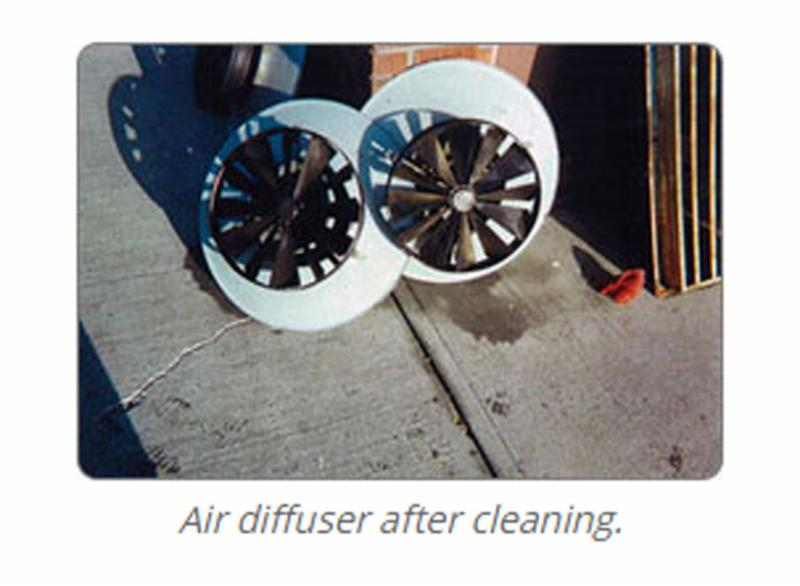 Air Diffuser after cleaning