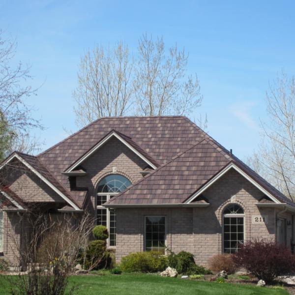 Edco Arrowline Slate-Shake Metal Roof - Metal Roof Outlet