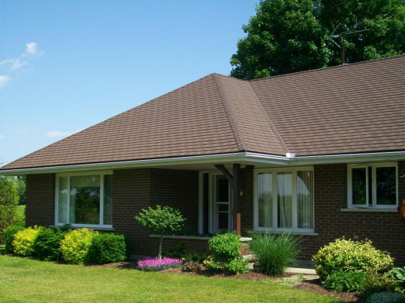 Granite Ridge Metal Shingle Roof - Metal Roof Outlet