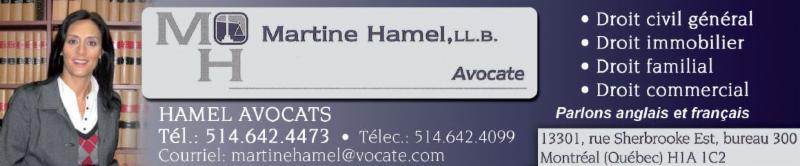 Martine Hamel Avocat - Photo 1