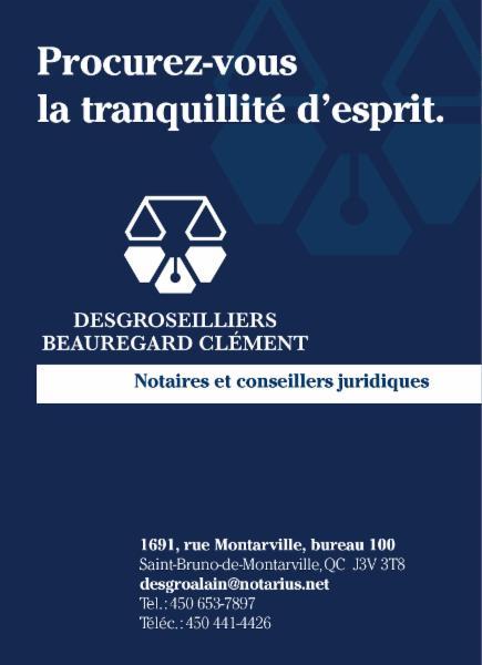 Desgroseilliers et Associés Notaires Inc. - Photo 1
