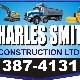 Charles Smith Construction Ltd - Excavation Contractors - 506-387-4131
