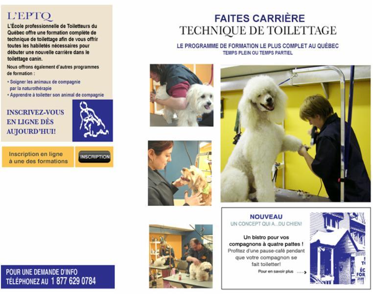 École Professionnelle de Toiletteurs du Québec - Photo 3