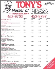 Tony's Master Of Pizza - Photo 2