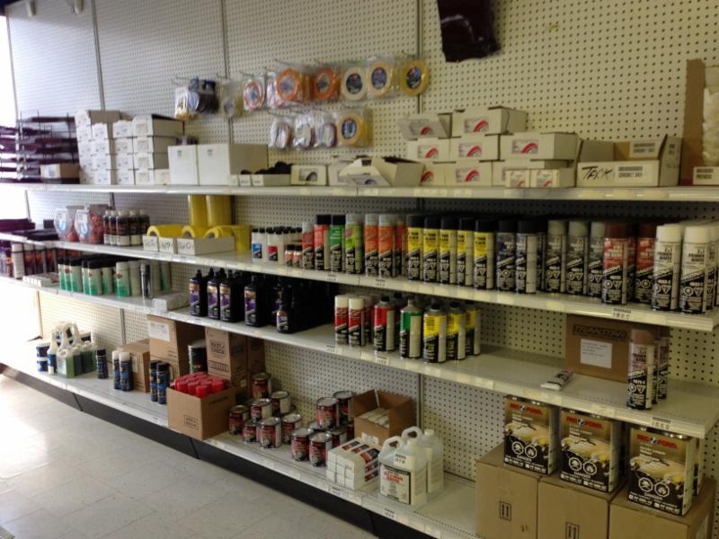 Car Paint Supply Calgary