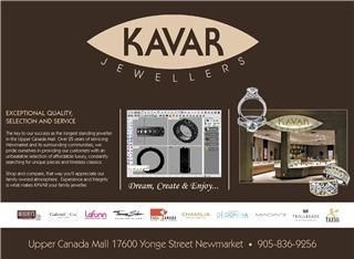 kavar jewellers opening hours 17600 yonge st. Black Bedroom Furniture Sets. Home Design Ideas