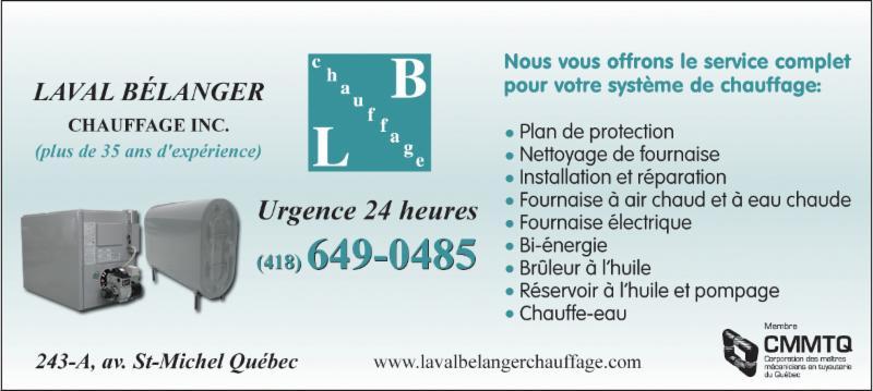 Bélanger Laval Chauffage Inc - Photo 1