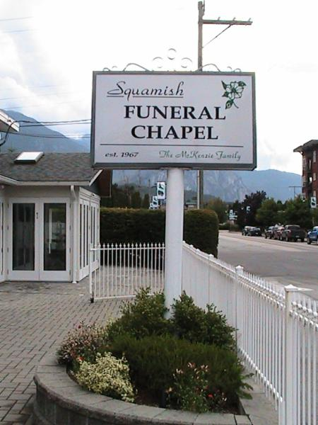 Squamish Funeral Chapel & Crematorium Ltd - Photo 1