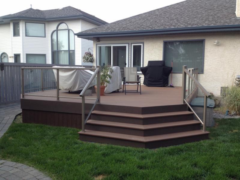 Alberta vinyl decking railings ltd edmonton ab 4744 76 ave nw canpages Home depot edmonton patio furniture