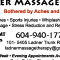photo Ladner Massage Therapy