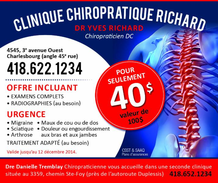 Clinique Chiropratique Richard - Photo 2
