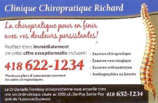 Clinique Chiropratique Richard - Photo 1
