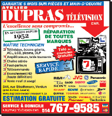 Réparation Dupras Télévision Enr - Photo 10