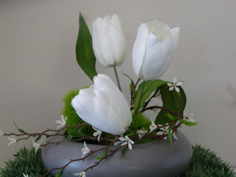 Fleurs de soie. - Le Fleuriste Des Quatre-Bourgeois