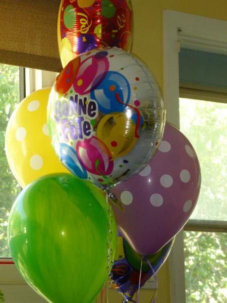 Ballons à l'hélium - Le Fleuriste Des Quatre-Bourgeois