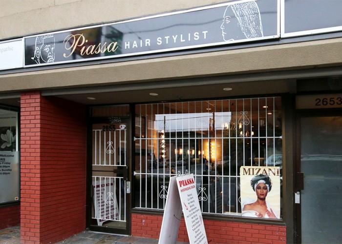 Piassa hair salon vancouver bc 2655 commercial dr for A salon vancouver