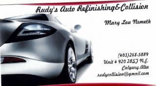 Rudy's Auto Refinishing & Collision - Photo 1