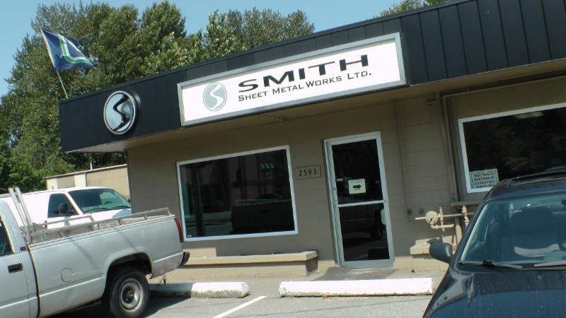 Smith Sheet Metal Works Ltd Port Coquitlam Bc 2593