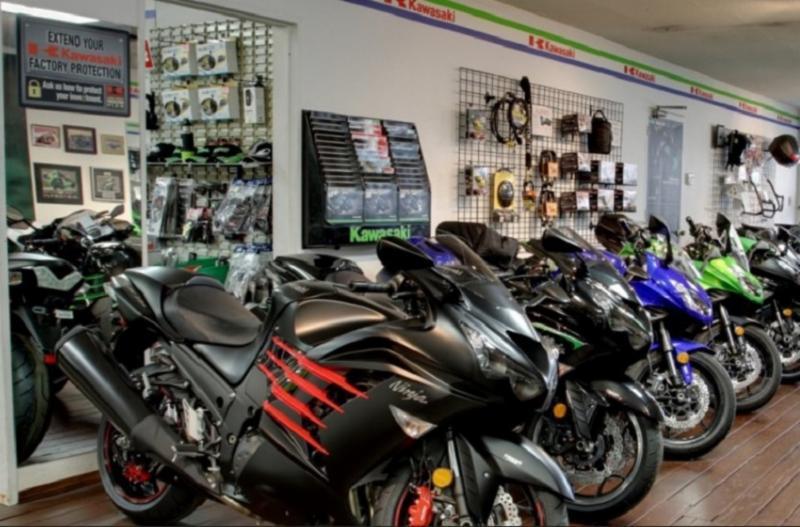 Sales Department Showroom - Burnaby Kawasaki
