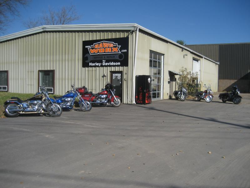 Hawg worx service repair for harley davidson barrie for Harley davidson motor company group inc