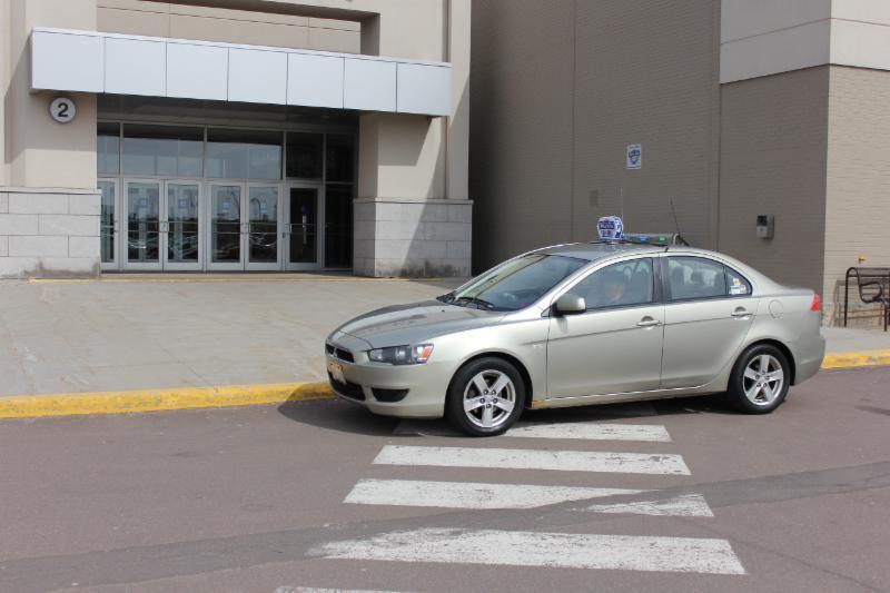 Halifax Airport Taxi Car Seat
