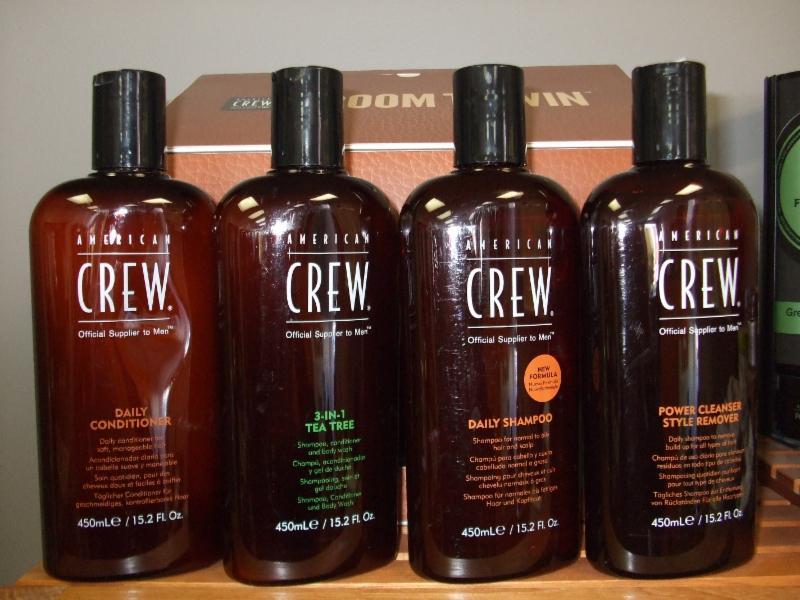 À essayer nos très bons shampooing de qualité... AMERICAN CREW