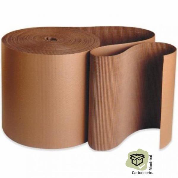 Rouleau de carton ondulé - Cartonnerie Montréal Inc