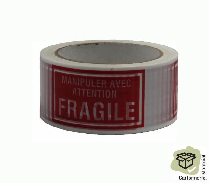 Ruban fragile - Cartonnerie Montréal Inc