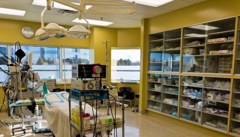 Salle opératoire de chirurgie plastique