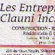 Entreprises Clauni Inc - Entrepreneurs en construction - 418-882-5228