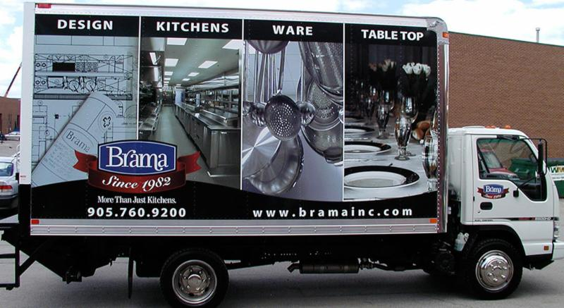 Vehicle Wrap - Trade Mark Signs Inc