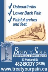 Body N'Sole Orthopaedic & Sports Rehab - Photo 8