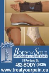 Body N'Sole Orthopaedic & Sports Rehab - Photo 10