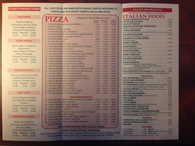 Gigi's Pizza & Spaghetti House - Photo 1