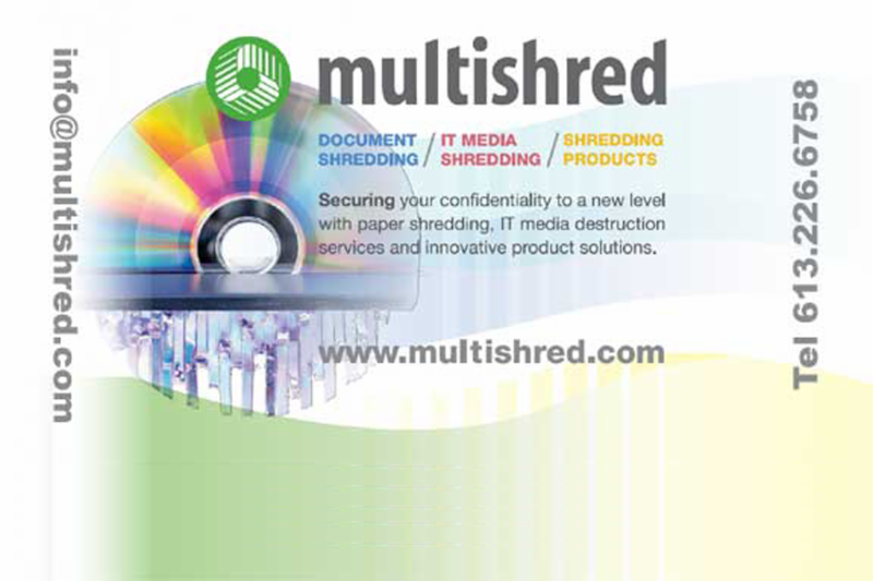 Déchiquetage sécurisée des services et équipements pour IT Media, papier et articles spécialisés. - Multishred
